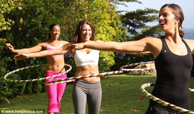 Tail spin: A promotional shot for Hoopnotica