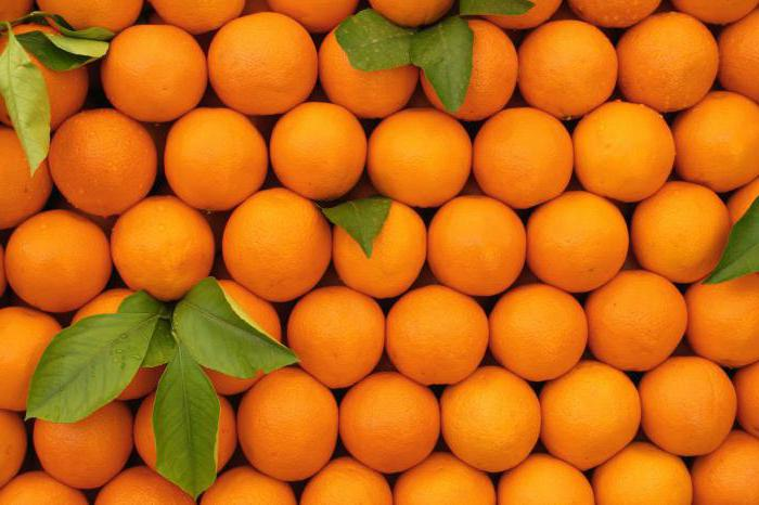 Orange calorie per 100 grams