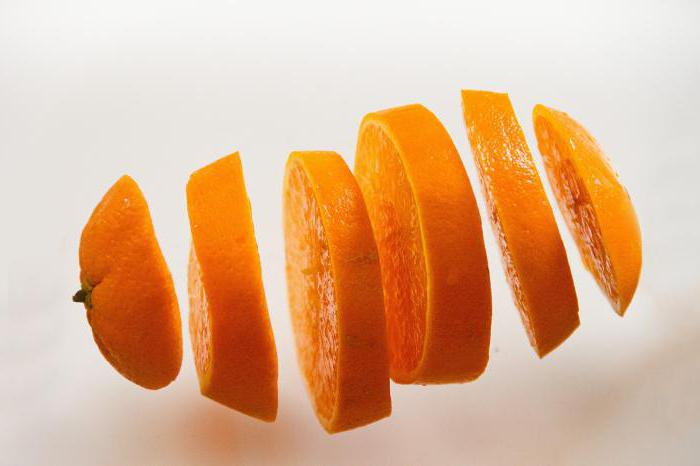 Calorie orange 36 kcal per 100 grams